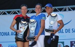 Angela Maurer da Alemanha, Martina Grimaldi da Itália e Ana Marcela